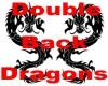 Back Double Dragon Tat
