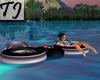 ^TJ^Purple/Black Floaty