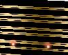 Custom black/gold steps