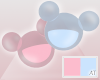 AT Pink/Blue Teddies 2