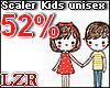 Scaler Kids Unisex 52%