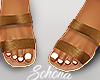 ṩ Brea Sandals Tan
