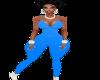 BM Light Blue Jumpsuit