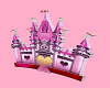 3d Pink castle
