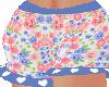Blue Rose Shorts