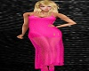 Long Shear Gown Pink