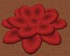 Dark Red Lotus Seat