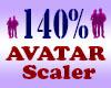 Resizer 140% Avatar