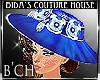 (B'CH) Herriet blue hat