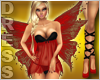 Red Love Angel Dress