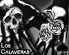 Cat~Calavera Dark.Gloves