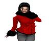 Winter Red/Black jacket