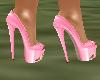 !Em PinkGold Heels
