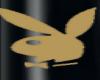Playboy Nails Black Gold