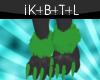 Green Lantern Paws [M]