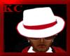 $KC$ Mafia Hat Wht/RedS