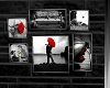 Black, White & Red Love