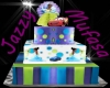 princess/car cake