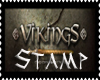 Vikings Support Stamp