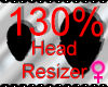 *M* Head Resizer 130%