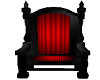 Red & Black Guest Throne