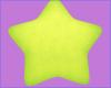 star pillow ★ green