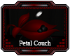 Red Petal Couch