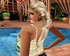 Blond Brown Pagity Hair