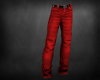 Male ChristmasJeansRed