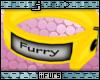 Furry Collar Yllw