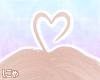 N' Blonde Heart Ahoge