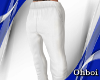 Oh* White Stem Pants