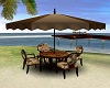 Beach Coffee Chat Table