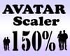 Avatar Scaler 150% / M