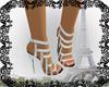 Amanda Silver Shoes