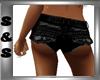 Black Jean Hot Pants