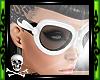☠Death Goggles White