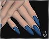 S. Blue Nails