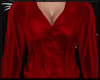 Bright Red Satin Blouse