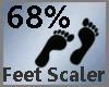 Feet Scaler 68% M A
