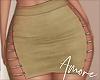! Camel Faux Skirt  M