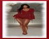 Transparent Dress Red