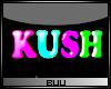 Kush Neon Wall Light