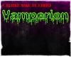 Vamperion Family Sticker