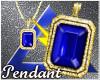 |✘✘| Blue Pendant