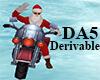 (A) Santa Motorcycle