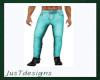 JT Slim Jeans Teal