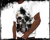 KfSkull white t-shirt
