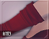 [Anry] Mikki Red Sleeves