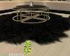 ID: Noir fur rug